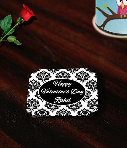 Valentine's Day Name Coasters