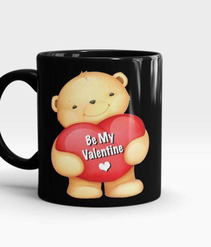 Be My Valentine Bear Mug