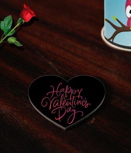 Happy Valentines Artwork Coasters