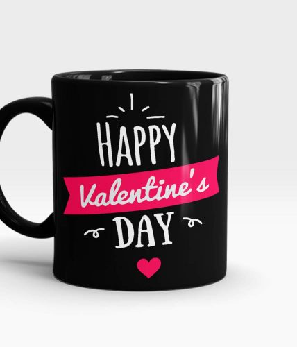 Happy Valentine's Day Elegant Mug