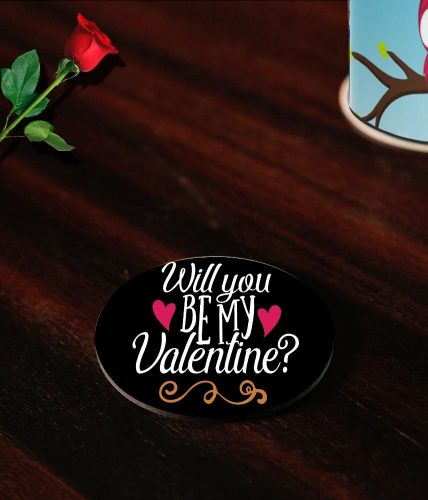 Will You Be My Valentine Coasters