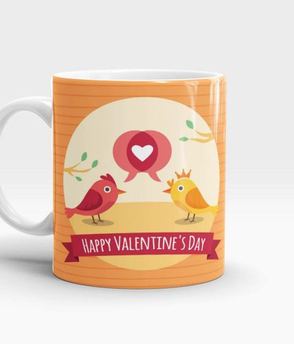 Love Birds Valentine Mug