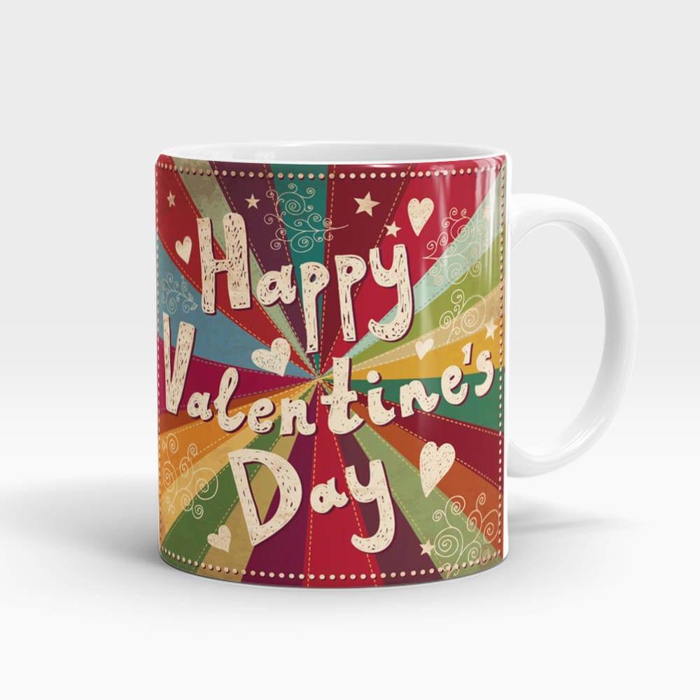 Retro Valentine's Day Mug