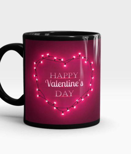 Happy Valentine's Heart Mug