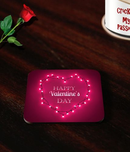 Happy Valentine Heart Coasters