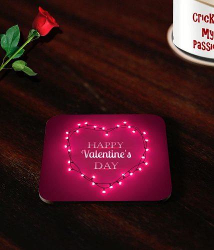 Happy Valentine Heart Coasters