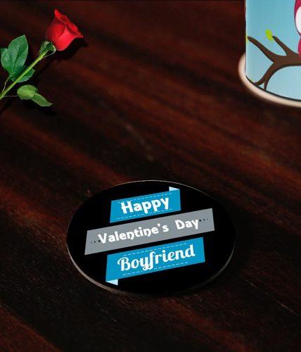 Boyfriend Valentine's Day Coasters