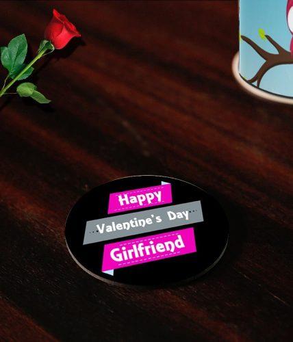 Girlfriend Valentine's Day Coasters