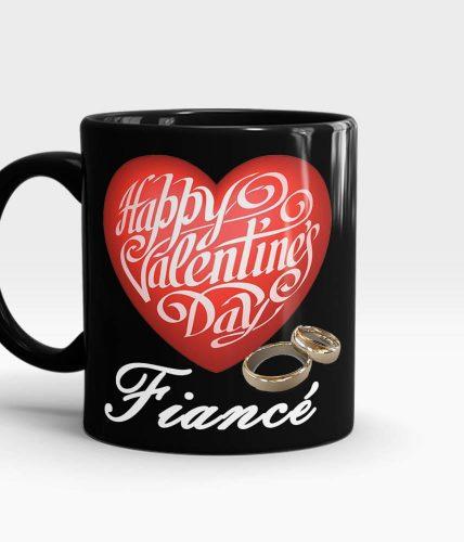 Fiancé Valentine's Day Mug