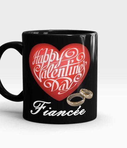 Fiancée Valentine's Day Mug