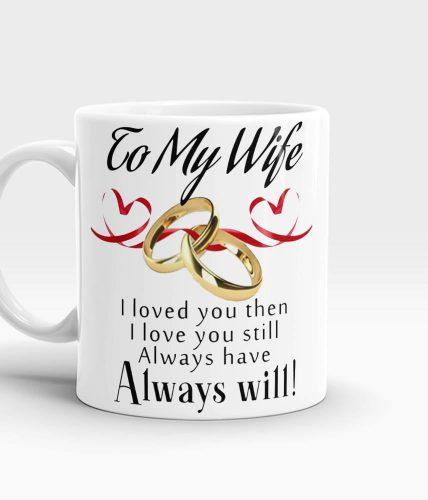 Wife Ring Mug