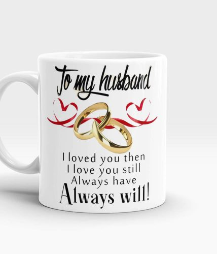 Husband Ring Mug