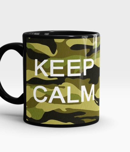 Keep Calm Army Mug