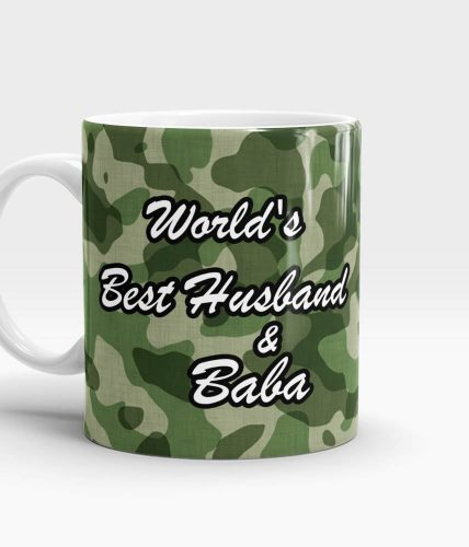 Best Husband & Baba Mug