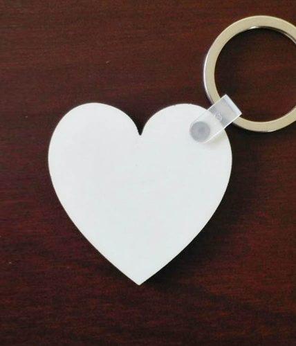 Heart Keychain - Customized