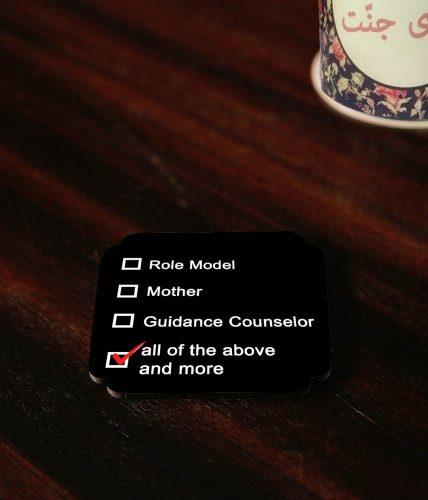 Checklist Mother Coasters