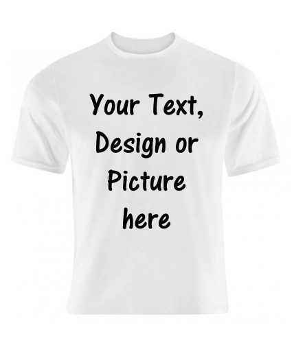White Unisex Printed T-Shirt  - Customized