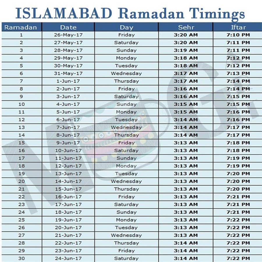 Ramadan Calendar 2018 Mug