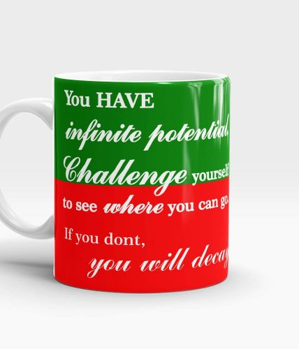 Challenge Yourself Mug