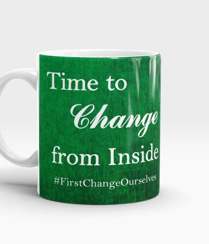 Time To Change Mug