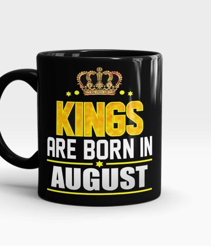 Kings Born In August Mug