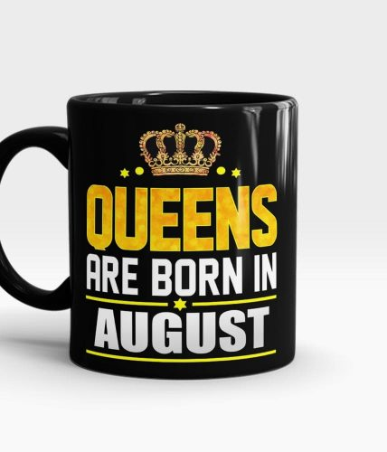 Queens Born In August Mug