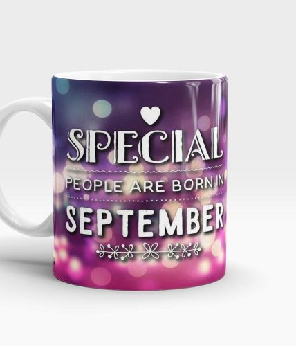 Born In September Mug