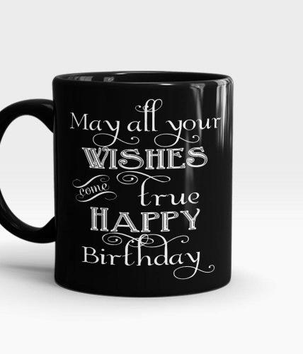 Wishes Come True Birthday Mug