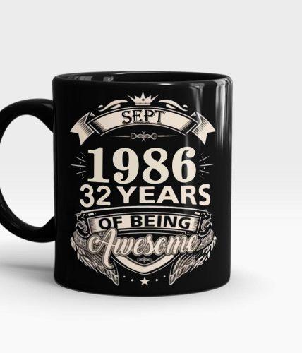 Birthday Year Personalized Mug