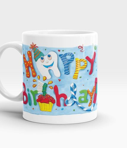 Dentist Birthday Mug