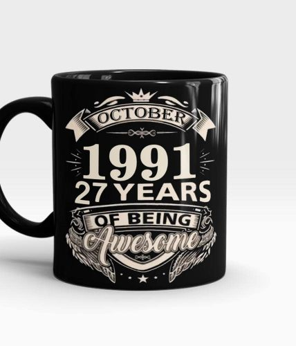 Birthday Year Personalized Mug