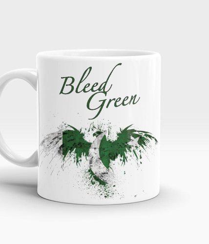Bleed Green Mug