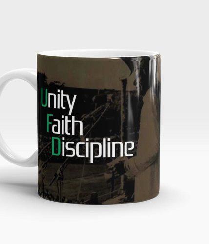 Unity Faith Discipline Mug