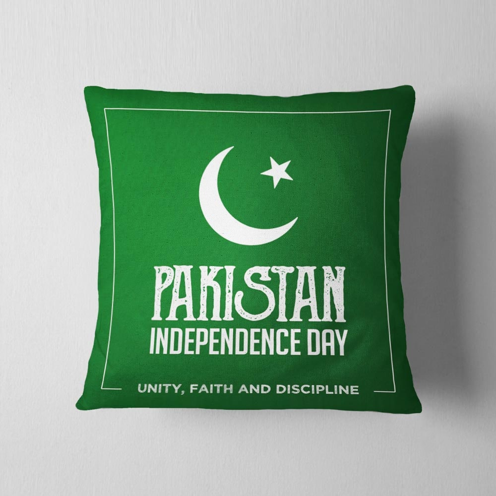 Pakistan Independence Day Cushion
