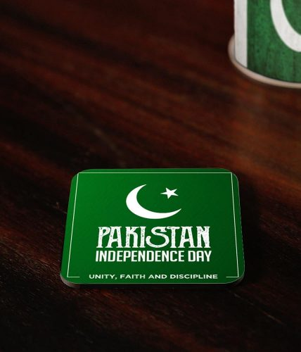 Pakistan Independence Day Coasters