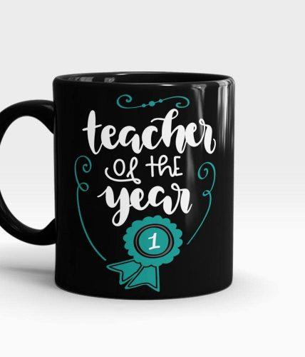 Teacher Of The Year Mug