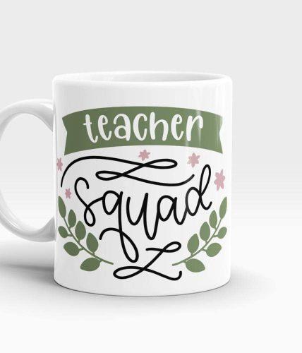 Teacher Squad Mug