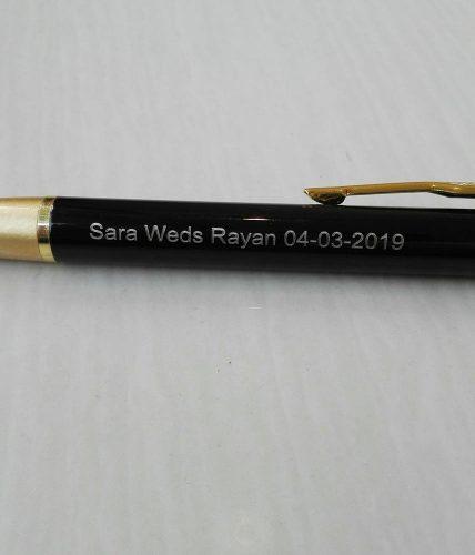 Nikah/ Anniversary Names Metal Pen
