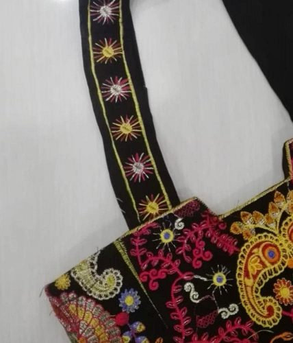 Embroidered Hand Bag - BG-104