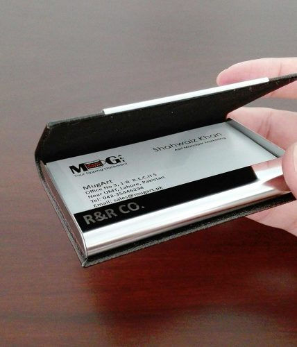 Name Engraved | Professional Visiting Cards Holder