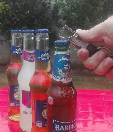 Name Metal Keychain With Bottle Opener, Torch & Hook
