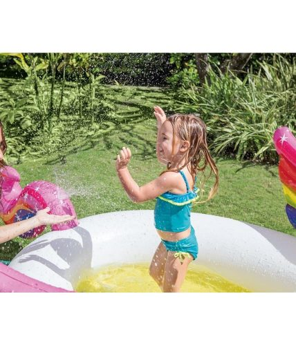Unicorn Swimming Sprayer Pool