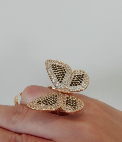 Butterfly Moving Ring