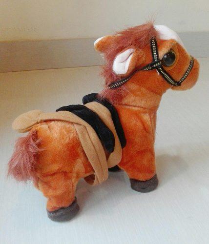 Dancing Walking Plush Pet Horse