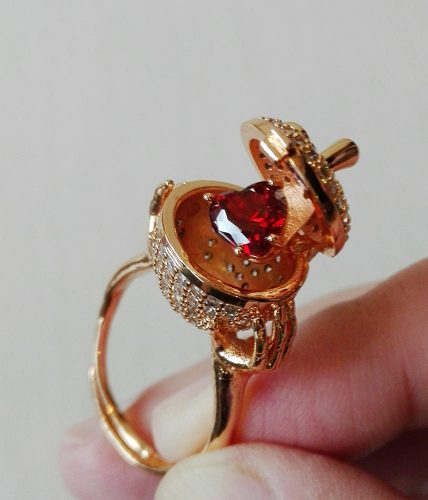 Secret Heart Ring