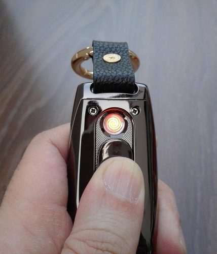 Watch Lighter Gadget With Torch, Compass & Keychain